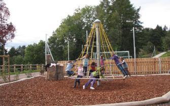 Kinderspielplatz in Schlaneid (Mölten, Südtirol)