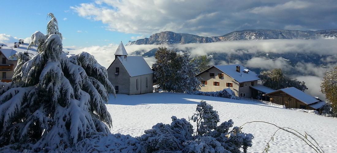 Der Kastnerhof im Winter